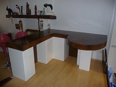 cr ation de mobilier design l ger en polystyr ne r sin